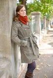 Fall fashion girl. Royalty Free Stock Image