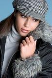 Fall Fashion Girl Stock Photos