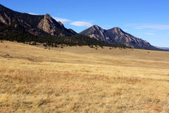 Fall Flatirons Royalty Free Stock Photos