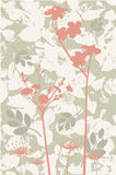 Fall floers. Vetor bckground with autumn fowers Stock Images