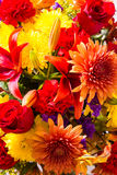 Fall Floral Bouquet Royalty Free Stock Photo