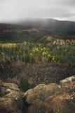 Fall Foliage & Approaching Storm Stock Photography