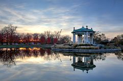 Free Fall Foliage Around The Forest Park Bandstand In St. Louis, Missouri Royalty Free Stock Image - 104023336