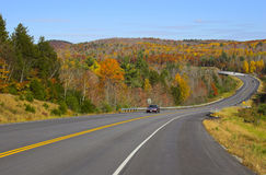 Fall foliage colors Stock Photography