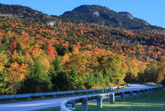 Fall Foliage Grandfather Mountain North Carolina Stock Photography