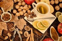 Fall food stil life Stock Photo