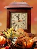 Fall Forwad Spring Back Clock Stock Photo