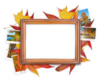 Fall frame royalty free stock photo