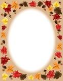 fall frame leaves thanksgiving 免版税库存照片