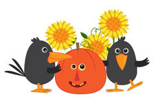 Fall Friends Royalty Free Stock Image