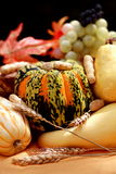 Fall fruits and pumpkin Royalty Free Stock Images