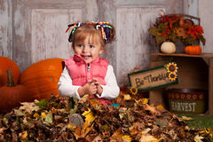 Fall fun. Royalty Free Stock Photo