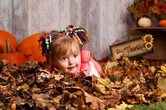 Fall fun. Royalty Free Stock Image