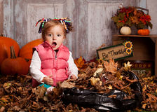 Fall fun. Stock Image