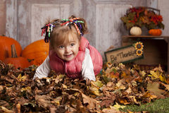 Fall fun. Royalty Free Stock Photos