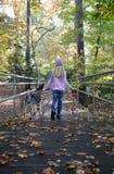 Fall-Gehen stockfoto