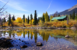 Fall in Grand Tetons Stock Images