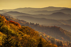Fall in Great Smoky Mountains National Park Royalty Free Stock Photography