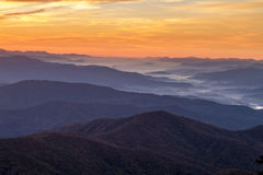 Fall in Great Smoky Mountains National Park Stock Image