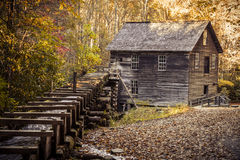 Fall in Great Smoky Mountains National Park Stock Photo