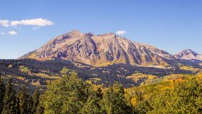 Fall in Gunnison Stockbilder