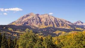 Fall in Gunnison Stockbilder