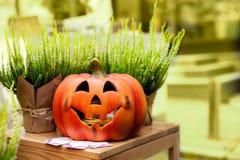 Fall halloween decoration Stock Photos