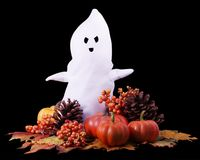 Fall Halloween Ghost Stock Image