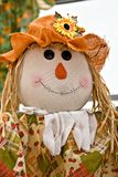 Fall Halloween Scarecrow Royalty Free Stock Photos