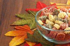 Fall harvest pasta Royalty Free Stock Photo
