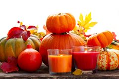 Fall harvest of pumpkins Royalty Free Stock Photography