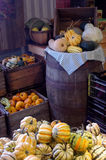 Fall Harvest Store Stock Photo