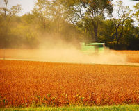 Fall Harvest Time. This is a shot of harvest time in the mid-west United States Stock Photo