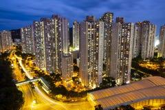 FALL HAU, HONG KONG lizenzfreies stockbild