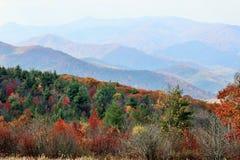 Fall in Haywood Co lizenzfreie stockbilder