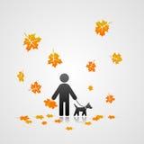 Fall-Ikone Stockbild