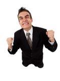 Fall jovenes del hombre de negocios Imagen de archivo libre de regalías