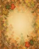 Fall lässt Herbsthintergrund