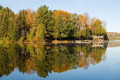 Fall Lake Royalty Free Stock Photos