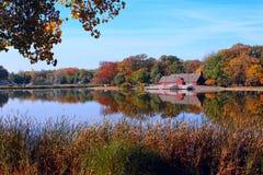 Fall on the lake Stock Photos