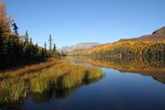 Fall At The Lake Stock Photos