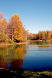 Fall Lake Royalty Free Stock Photo