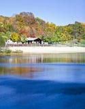 Fall lake Stock Photo