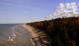 Fall on Lake Superior Royalty Free Stock Images