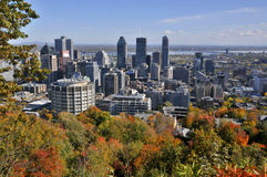 Fall landscape. A Fall landscape Quebec, canada Stock Photo