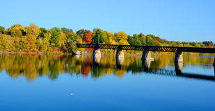 Fall landscape,. Colorful fall landscape, Quebec, canada stock photography