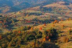 Fall landscape in Polana region stock photos