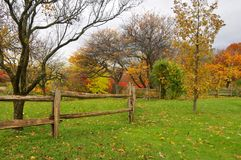 Fall landscape. Quebec province Canada royalty free stock photography