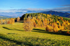 Fall landscape in Slovakia Stock Images