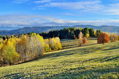 Fall landscape in Slovakia Stock Photo